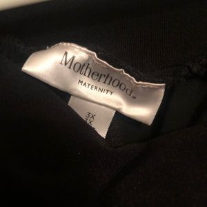 Plus size maternity dress pants